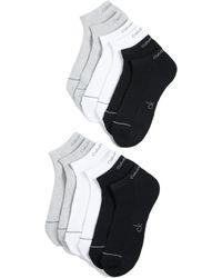 Calvin Klein - 6 Pack Liner Socks - Lyst