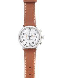 Shinola - The Runwell Chronograph 47mm Watch - Lyst