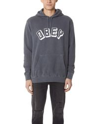 Obey - New World Hoodie - Lyst