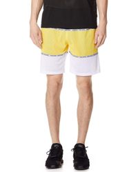 Opening Ceremony - Colorblock Mesh Shorts - Lyst