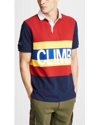 Polo Ralph Lauren - Hi Tech Short Sleeve Rugby Shirt - Lyst