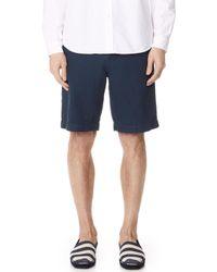 Billy Reid - Clyde Linen Shorts - Lyst