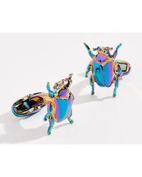 Paul Smith - Rainbow Beetle Cufflinks - Lyst