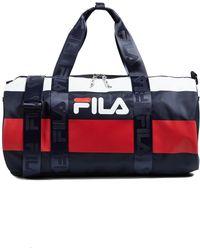 dc7e54bbf0 Fila - Major Barrel Duffel Bag - Lyst
