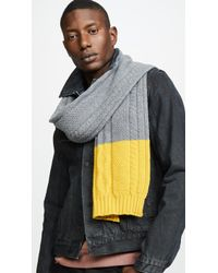 Paul Smith - Cable Highlight Scarf - Lyst