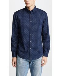 Club Monaco - Button Down Shirt - Lyst