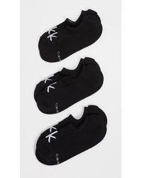 Calvin Klein - 3 Pack Logo Liner Socks - Lyst