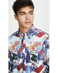 Polo Ralph Lauren - Allover Sailing Poplin Shirt - Lyst