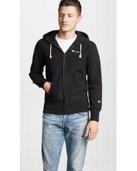 Champion - Zip Up Hooded Sweatshirt - Lyst