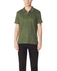 Vilebrequin - Linen Jersey Polo Shirt - Lyst