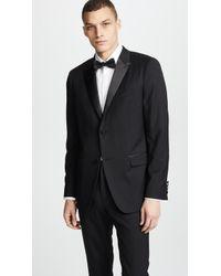 Theory - Wellar Tuxedo Jacket - Lyst
