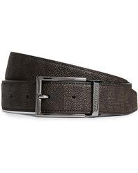 Michael Kors - Belts Shadow Sig Pvc Reversible Sig Belt - Lyst