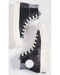 Converse - Ct70 Mixed Material Hi-top Sneakers - Lyst