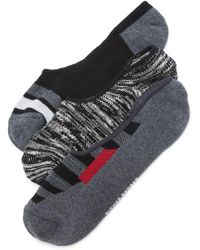Richer Poorer - 3 Pack No Show Socks - Lyst