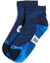 Stance - Run Appalachian Quarter Socks - Lyst