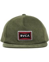 RVCA - Pace Cap - Lyst