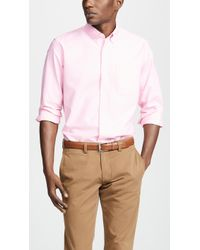 J.Crew - Classic Stretch Oxford Shirt - Lyst