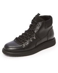 H by Hudson | Stange Hiker Boots | Lyst