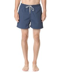 Solid & Striped - The Classic Trunks - Lyst