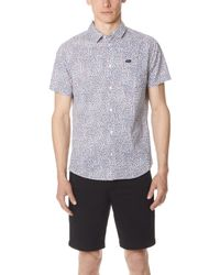 RVCA - Happy Thoughts Short Sleeve Shirt - Lyst