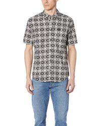 RVCA - Visions Short Sleeve Shirt - Lyst