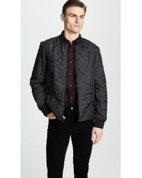 Club Monaco - Quilted Jacket - Lyst