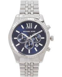 Michael Kors - Lexington Watch, 45mm - Lyst