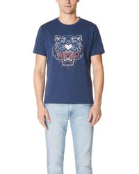 KENZO - Bleached Tiger Tee - Lyst