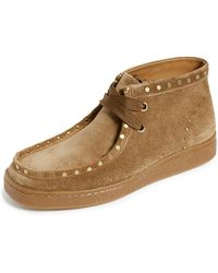 COACH - Suede Studded Hybrid Wallabee Boots - Lyst