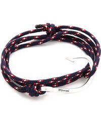 Miansai - Hooked Rope Wrap Bracelet - Lyst