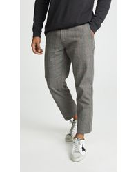 Obey - Straggler Plaid Carpenter Trousers - Lyst