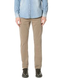 J Brand - Kane Slim Straight Garment Dye Jeans - Lyst