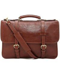 Lotuff Leather - Bound-edge English Briefcase - Lyst