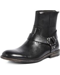 Frye - Sam Harness Boots - Lyst