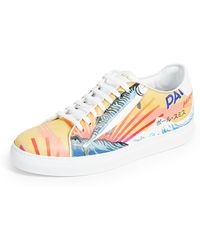 Paul Smith - Mackeral Printed Bassom Sneakers - Lyst