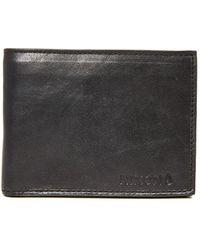 Nixon - Legacy Leather Wallet - Lyst