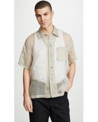 Our Legacy - Box Shirt Short Sleeve - Lyst