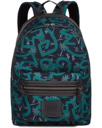 COACH - X Keith Haring Cordura Mixed Material Backpack - Lyst