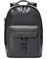 Tumi - Ashton Leather Morrison Backpack - Lyst