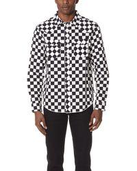 Stussy - Checker Western Shirt - Lyst