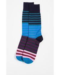 Paul Smith - Cart Stripe Socks - Lyst
