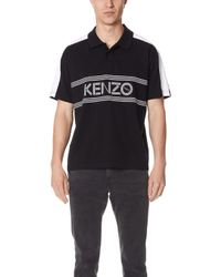 KENZO - Sport Straight Polo Shirt - Lyst