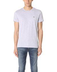 Lacoste - Pima Jersey T-shirt - Lyst
