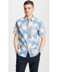 Ted Baker Hedgeog Shirt - Blue