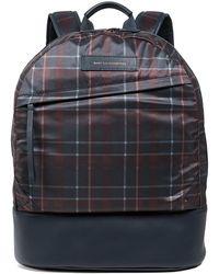 Want Les Essentiels De La Vie - Plaid Backpack - Lyst