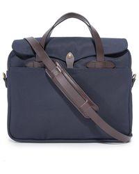 Filson - Navy Original Briefcase - Lyst