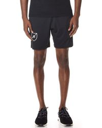 Reigning Champ - Shield Logo Short - Lyst
