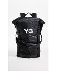 Y-3 - Itech Backpack - Lyst 6de0ac44c1bfb