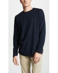 Theory - Double Tee - Lyst