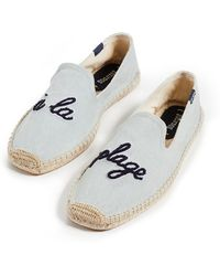 Soludos - A La Plage Smoking Slippers - Lyst